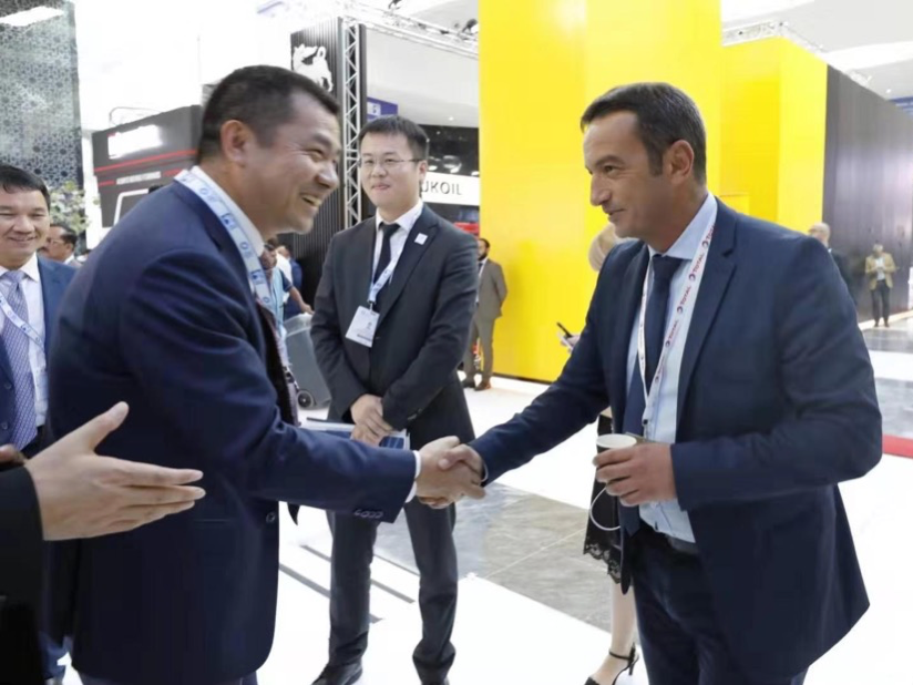 Anton's presence at ADIPEC 2019 has successfully ended