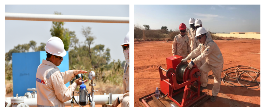 Anton Chad Integrated Oilfield Management Project started production trial operation