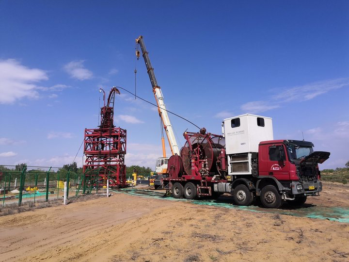 Anton completed the first velocity string recovery and reuse operation in China
